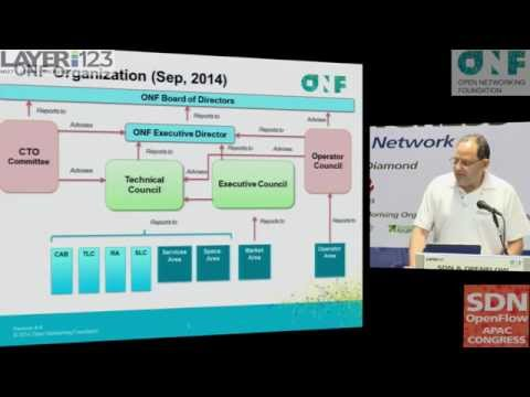 """Marc Cohn presenting """"ONF in 2015"""" at the SDN & OpenFlow Asia-Pacific Congress 2015"""