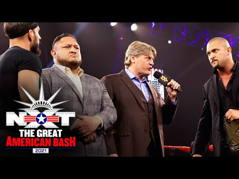 Samoa Joe named special guest referee for NXT Title clash: NXT Great American Bash, July 6, 2021