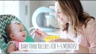 MAKING HOMEMADE BABY FOOD + 4 QUICK & EASY RECIPES! ft. HOMIA BABY FOOD PROCESSOR (AD)