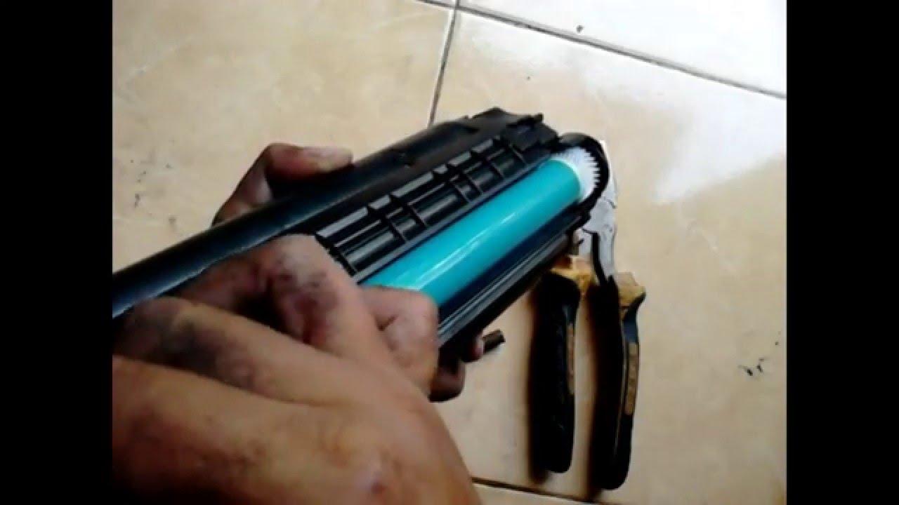 Cara Memperbaiki Printer Laserjet Hasil Kotor Hitam Youtube