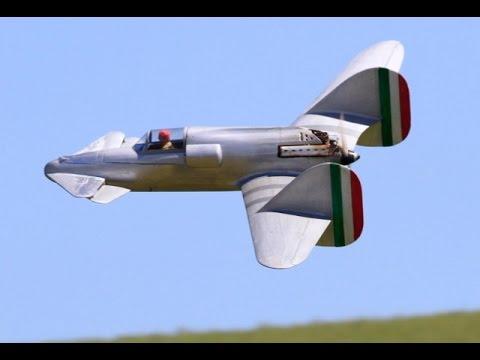 RC SCALE AMBROSINI SS.4 PUSHER PROP CANNARD ITALIAN WW2 FIGHTER - TIM DRURY - 2015