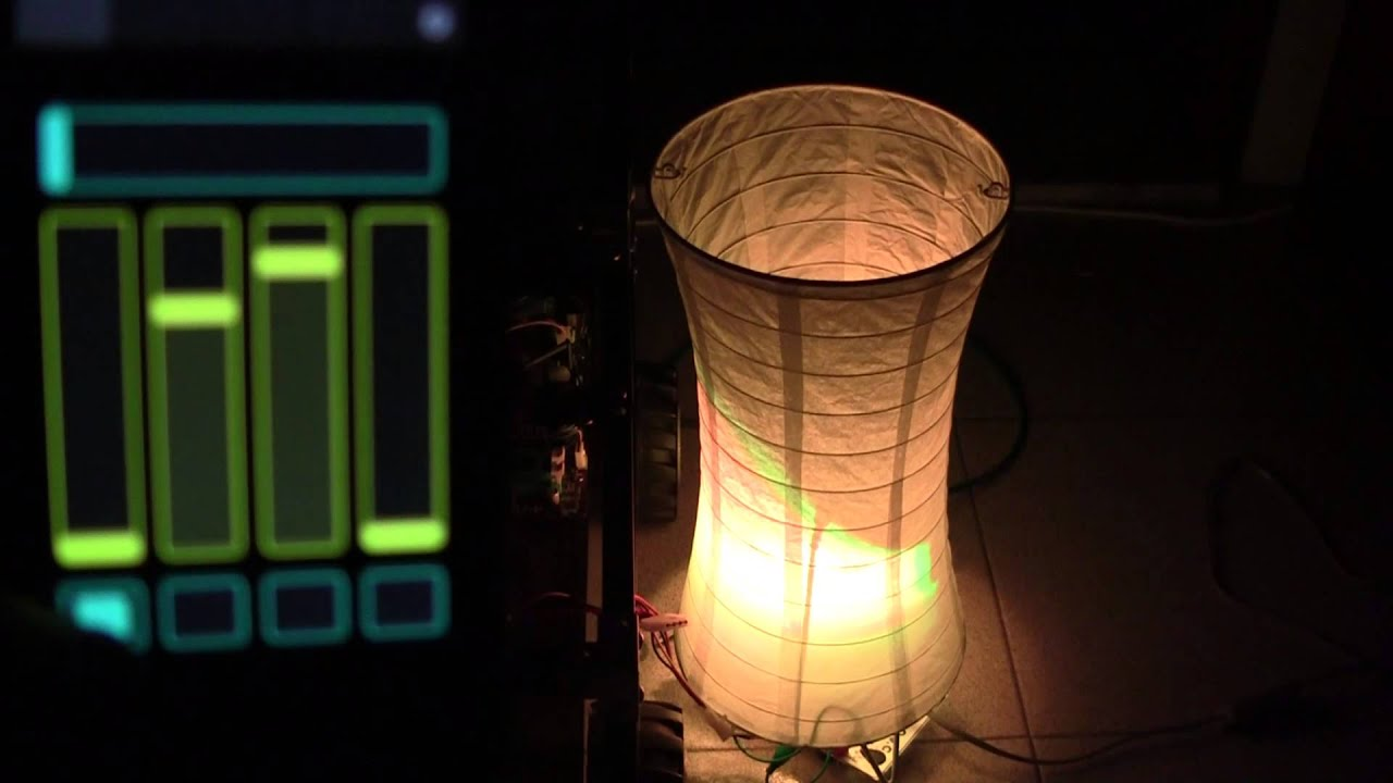 Arduino sketch to cycle an RGB LED through the colour