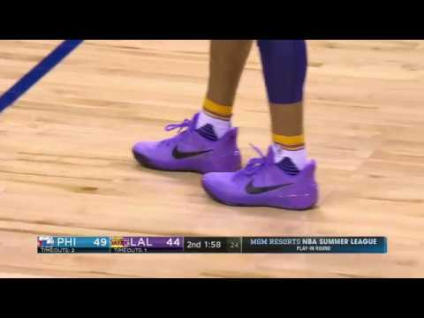 Download Youtube: Lonzo rocking Nike, not Big Baller Brand