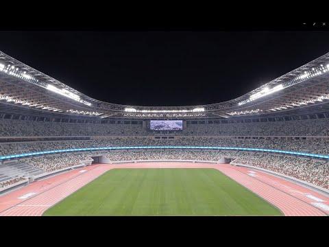 Panasonic's Various Solutions At The National Stadium In Tokyo, Japan