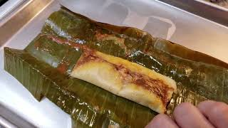 Chicken Mole Tamales Recipe   How To Use Banana Leaves For Tamales
