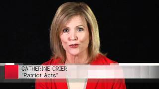 Catherine Crier on PATRIOT ACTS