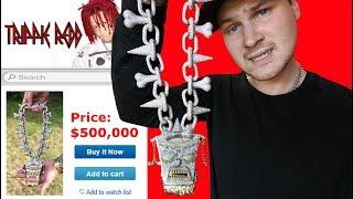 I Bought Trippie Redd's $500,000 Rapper Chain!!!
