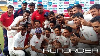 Runorder: Has the Ranji Trophy been tinkered with too much?