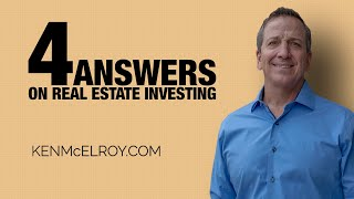 How to Invest in Real Estate with $5000 | 4 Questions that YOU asked