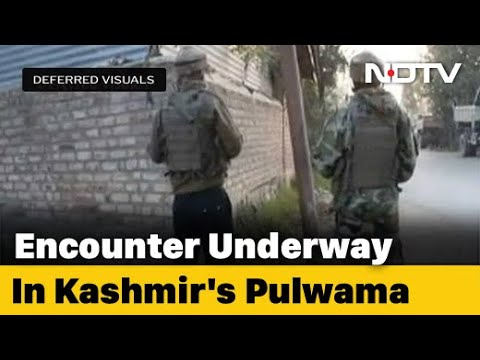 Encounter Breaks Out Between Security Forces, Terrorists in J&K's Pulwama