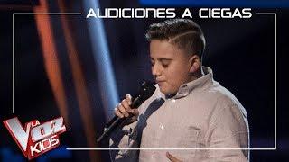 Chavito canta 'Cuando nadie me ve' | Audiciones a ciegas | La Voz Kids Antena 3 2019
