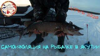 Рыбалка во время карантина. Якутия 2020.