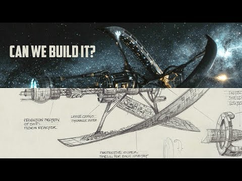 5 Fictional Star Space Craft with Realistic Designs