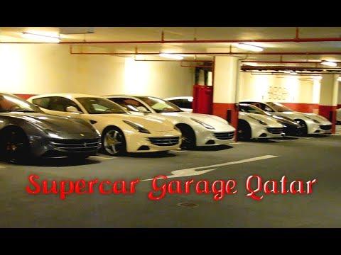 Supercar Garage In Doha Qatar Ferrari S Maserati S