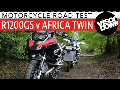 Honda Africa Twin vs BMW R1200GS Adventure Bike Review | Bike Comparison