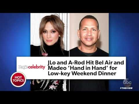 Alex Rodriguez Talks Relationship With Jennifer Lopez | The View