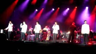 """Adoro live in der Zitadelle in Mainz (14.07.2012) """"Für mich soll's rote Rosen regnen"""""""