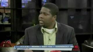 "Kevin Burke talks NBA draft on ""The Daily Line"" 5/18/10"