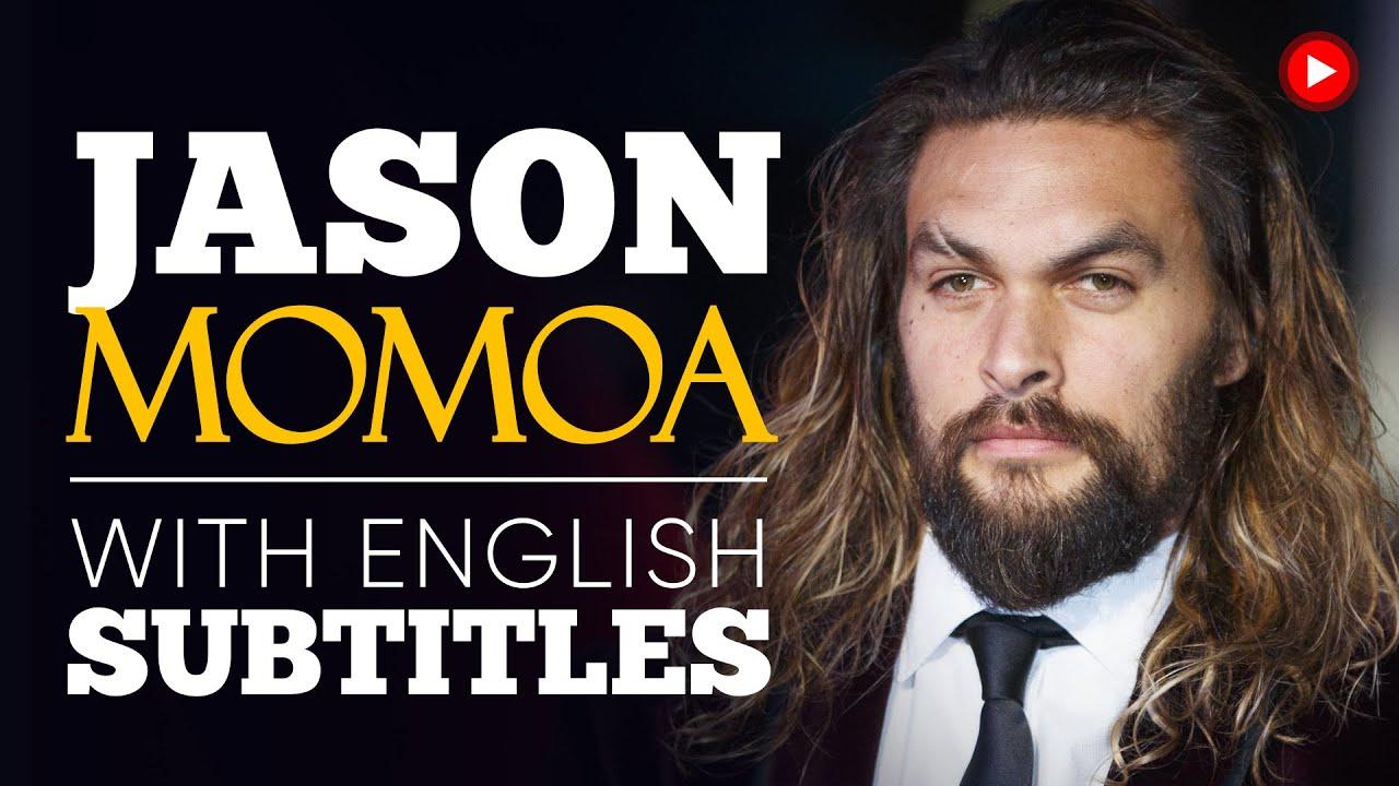 ENGLISH SPEECH | JASON MOMOA: Powerful Climate Speech (English Subtitles)