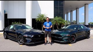Which Ford should you BUY? 2019 Mustang GT PP2 or Bullitt?