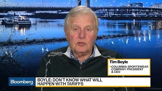 Columbia Sportswear CEO Says Addition Tariffs to Be