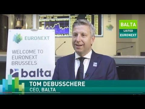 Balta lists on Euronext Brussels
