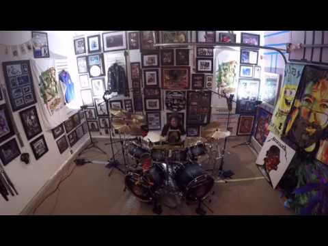 """Metallica - ManUnkind - Drum Cover - 11 yr old drummer - Julian """"Figgy"""" Delan"""