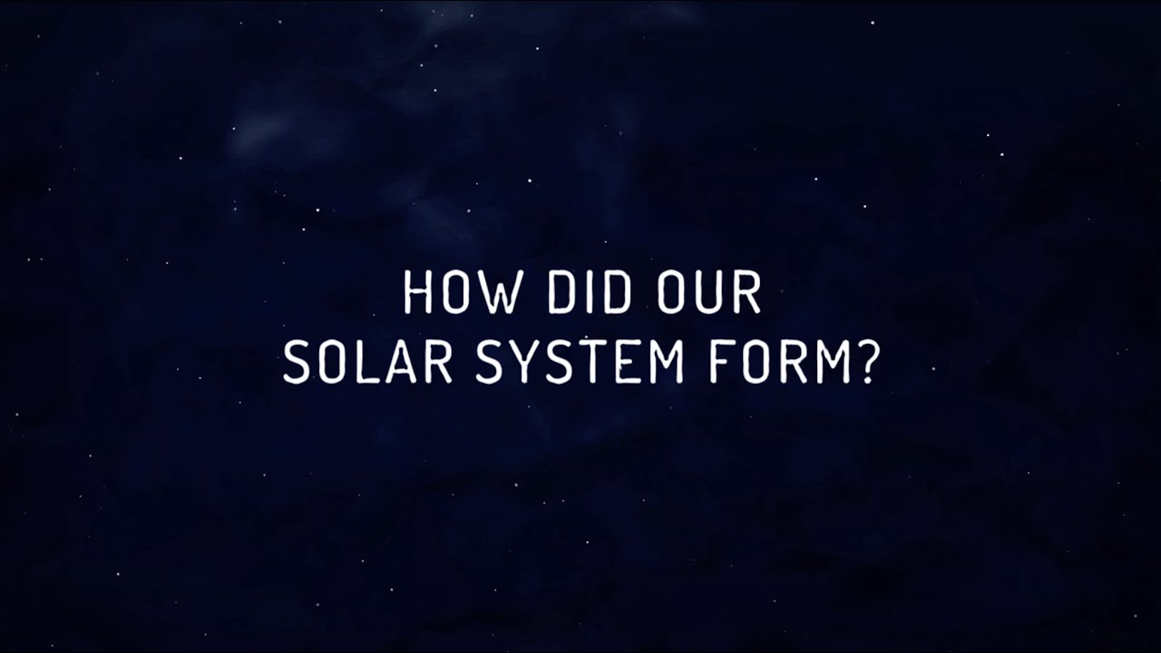 The Rosetta Mission Asks: How Did Our Solar System Form? - YouTube