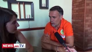 Gabriel Batistuta interview – NEWS.am. Legends Match in Yerevan
