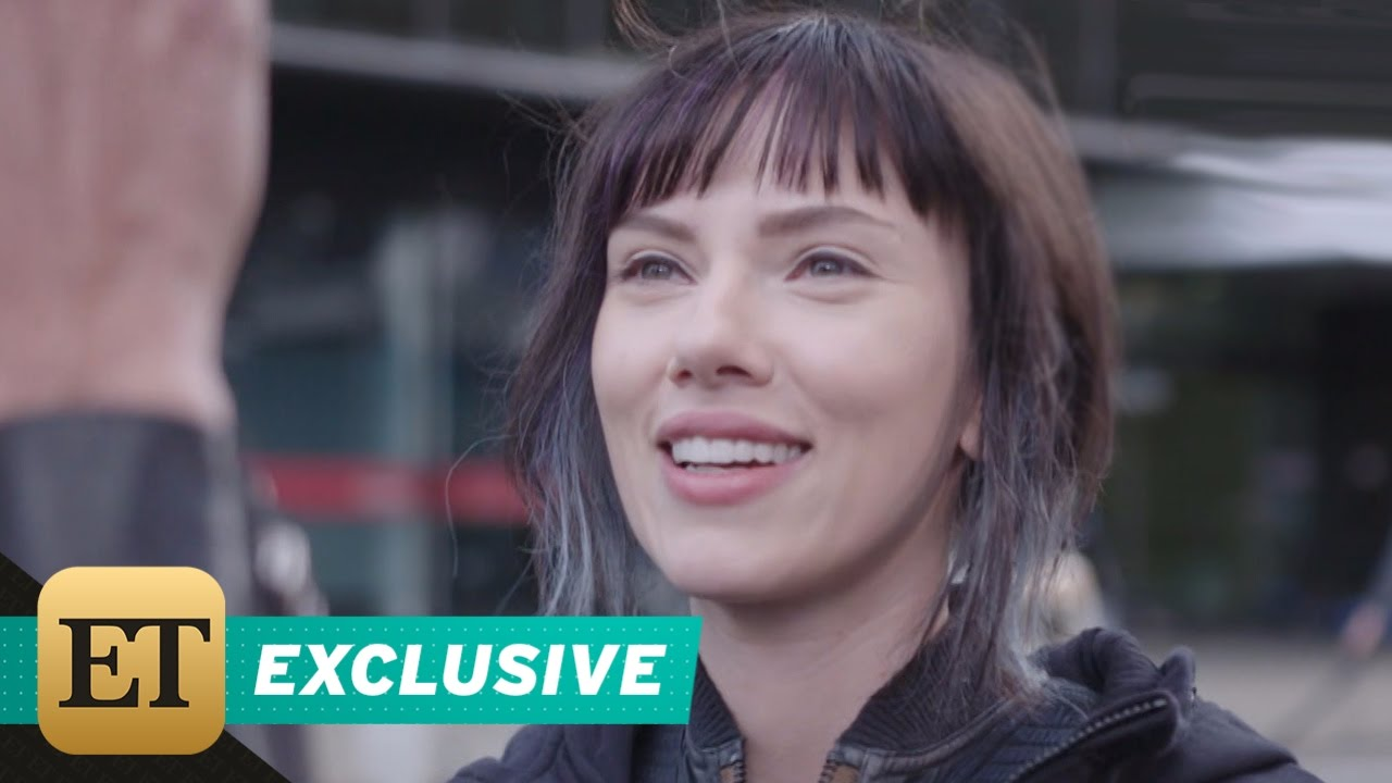 Exclusive Scarlett Johansson On How Ghost In The Shell Gives Important Lessons For Her Daughter Youtube