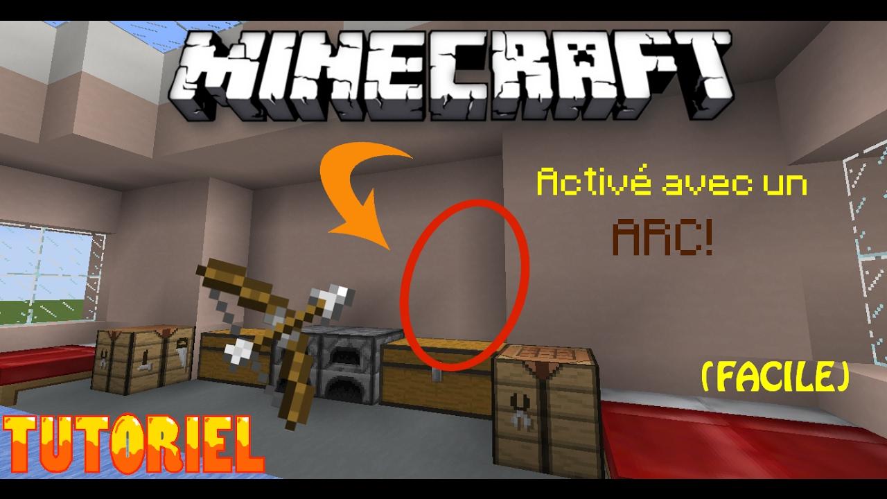 Comment Créer Un Passage Secret minecraft | comment faire un passage secret (eng. subtitles)- redstone  (build a secret entrance)