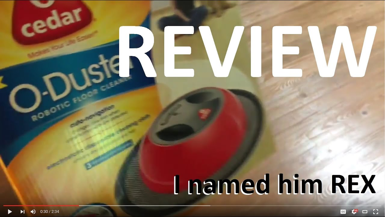 o duster robot review - you wont believe - youtube