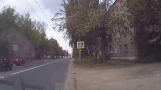 ДТП г Иваново 12 июля 2013 на улице 2-я Лагерная