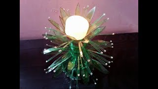 Empty plastic bottles fabulous craft ll Best reuse ideas ll Showpiece ll Home decoration idea