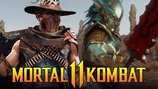 Mortal Kombat 11 - Kotal Kahn Kombat Kast & Erron Black Revealed!