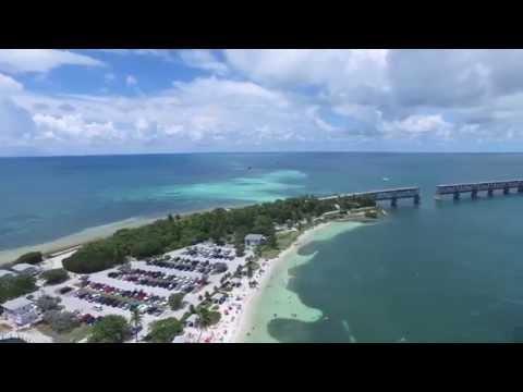 Amazing Drone Aerial Footage of Bahia Honda State Park, Florida Keys