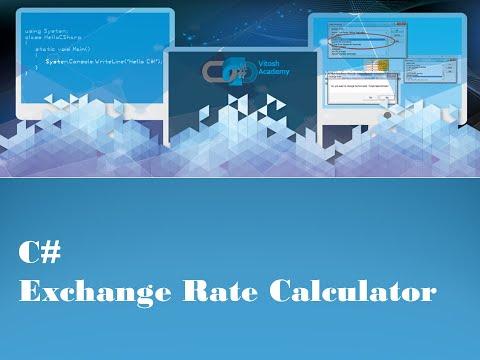 C Exchange Rate Calculator You
