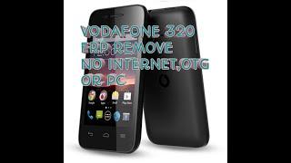 Vodafone vdf320 frp bypass
