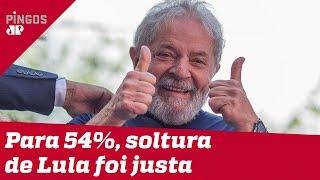 Datafolha garante que brasileiros apoiam soltura de Lula