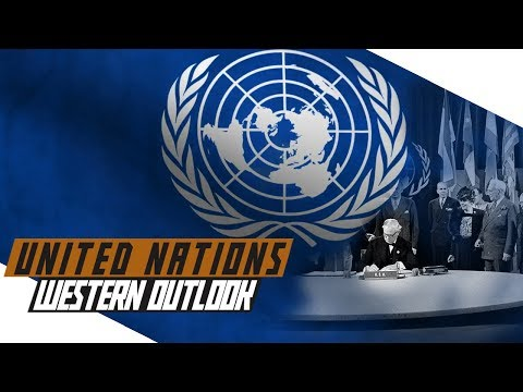 Formation of the United Nations and Western outlook - COLD WAR