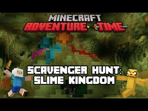 Adventure Time | Minecraft Scavenger Hunt: Slime Kingdom! | Cartoon Network