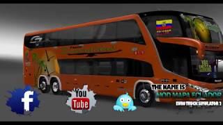 EURO TRUCK SIMULATOR MOD BUS ECUADOR- v1.22