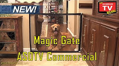 Magic Gate As Seen On TV Commercial Magic Gate As Seen On TV Pet Gate