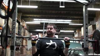 04/10/2011 - Buzz - Push Jerk, Push Press + Strict Swiss Bar
