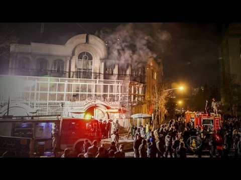 Saudi Arabia cuts ties with Iran after embassy attack in Tehran