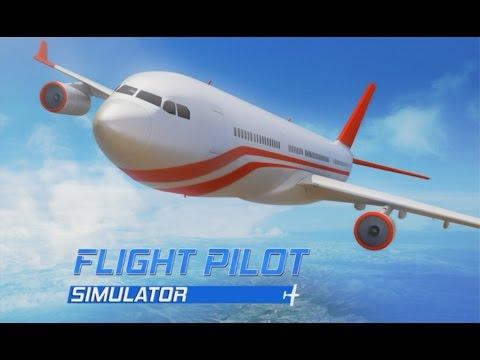 Flight pilot simulator 3d android gameplay hd youtube for Simulatore 3d
