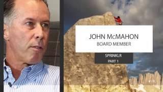 SaaS Adventure Video Series, John McMahon Segment 1