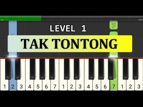 Not Piano Tak Tontong - Tutorial Level 1 - Not Pianika Lagu Nusantara - Sumatra Barat