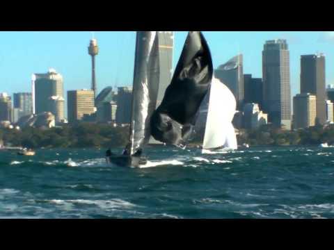 2014 MC38 Sydney Harbour Regatta Day 2 Races 5-7 Highlights. Big Wind Action