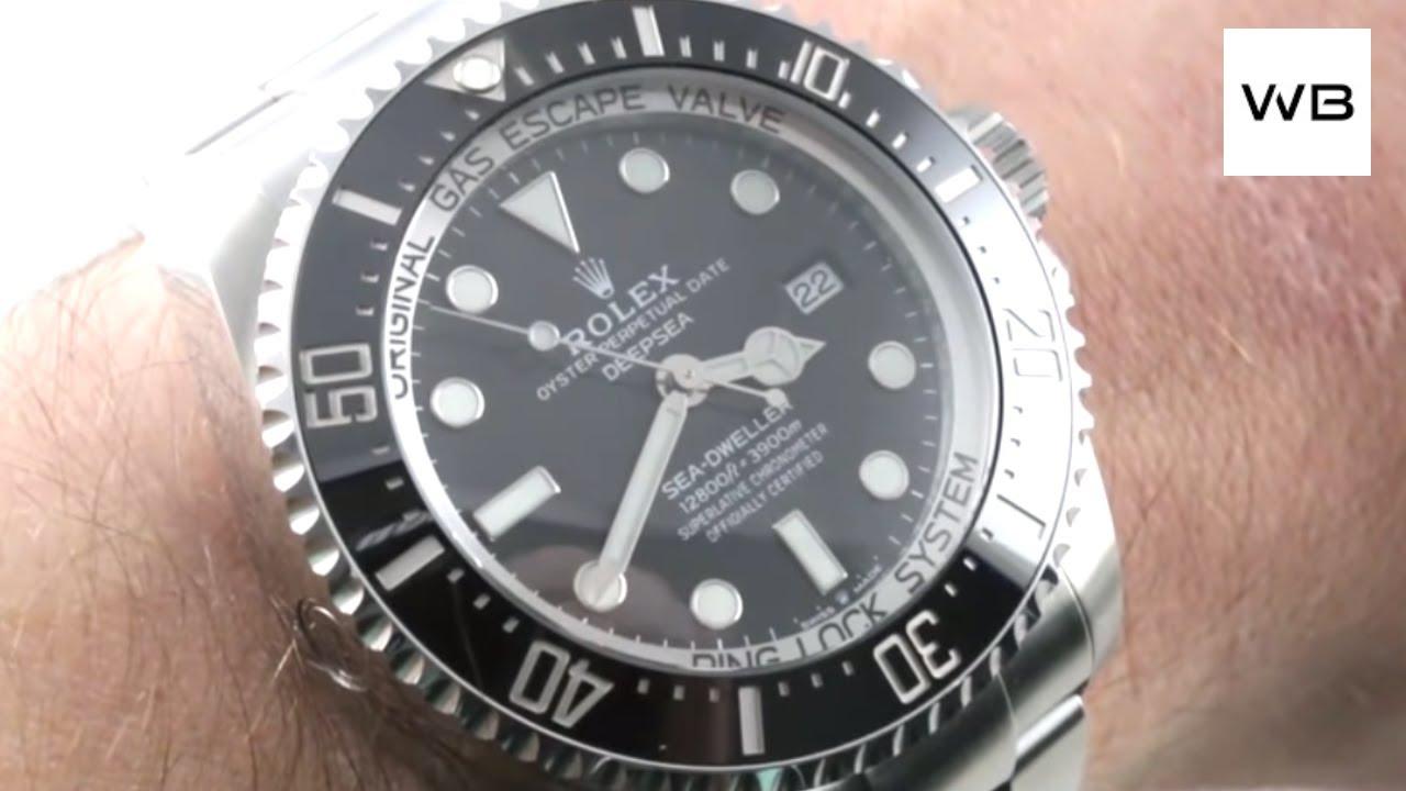 2018 Rolex Deepsea Sea Dweller NEW SIZE (126660) Rolex Watch Review